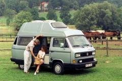 Jedna z ostatnich wersji campingowych, zaprezentowana w 1989 roku Westfalia Atantic High Top. Fot. Volkswagen