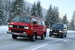 Wersja Syncro była produkowana w Grazu do 1992 roku. Fot. Volkswagen