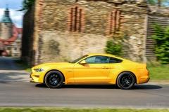 Ford Mustang GT - panning nie wyszedł mi najlepiej...