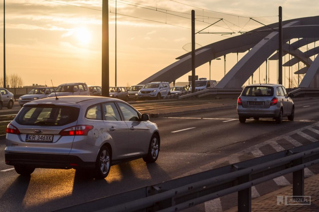Most Kotlarski Kraków bloger motoryzacyjny