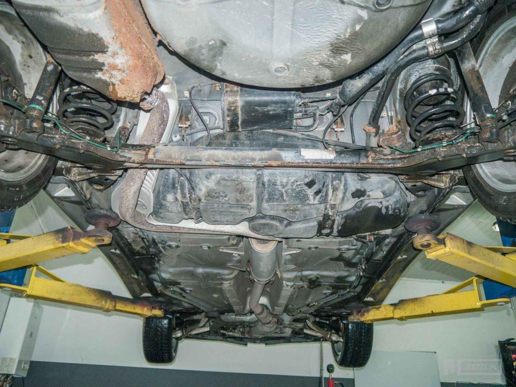 Saab 9-3 podwozie
